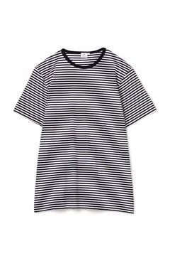 Men's Long-Staple Cotton T-Shirt With English Stripe