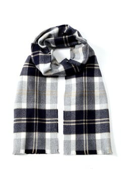 Men's Extrafine Merino Wool Scarf