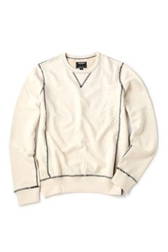<TODD SNYDER>Patch Crew Sweatshirt