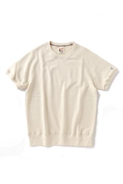 <Champion>Short Sleeve Sweatshirt
