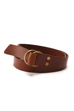 <HTC>Double Ring Leather Belt
