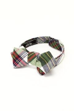 <TODD SNYDER>Madras Bow Tie