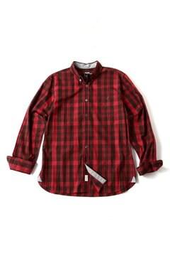 <TODD JAPAN LINE>Red Check Shirt
