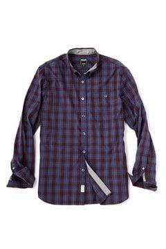 <TODD JAPAN LINE>Blue Plaid Shirt