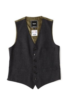 <TODD JAPAN LINE>Chalk Stripe Vest