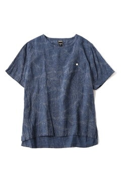 <TODD JAPAN LINE>Blue Print T-shirt