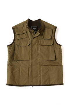<TODD JAPAN LINE>High Count Canvas Vest