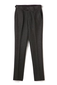 <TODD JAPAN LINE>Black Herring Bone Pants