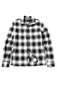 <TODD JAPAN LINE>Ombre Cotton Flannel Shirts