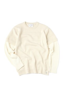 <TODD JAPAN LINE>Layered Sweater