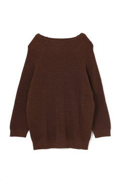 TWISTED LINEN COTTON JUMPER