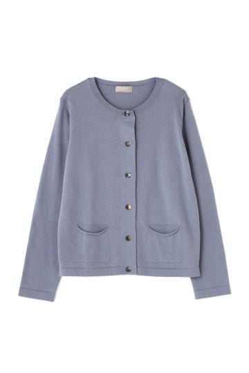 WOOL COTTON CARDIGAN