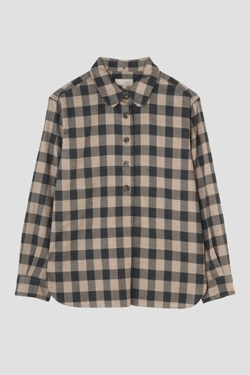 LARGE GINGHAM COTTON