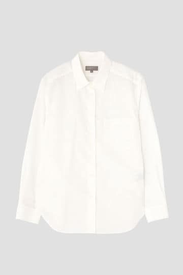 WHITE COTTON POPLIN