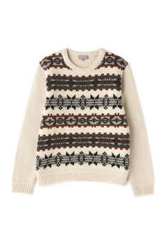 FAIRISLE CREW NECK
