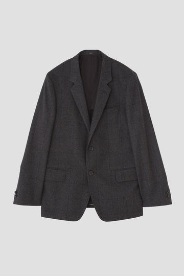 SUPERFINE SHADOW WINDOWPANE WOOL