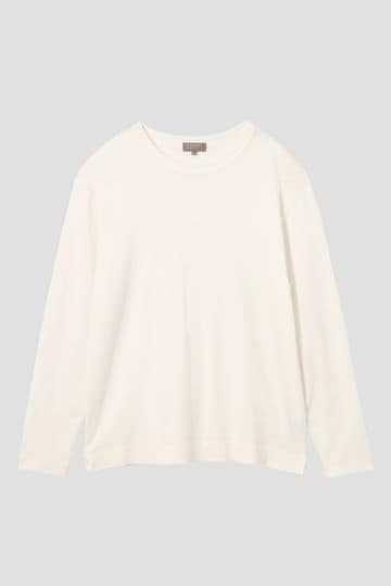 FINE PLATED COTTON JERSEY