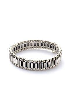 PHILIPPE AUDIBERT / bracelet Trenty metal raye