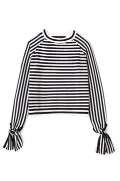 PAPER LONDON / BOW SLEEVES KNIT