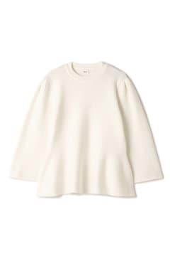 ELIN / Flared hem sleeves knit