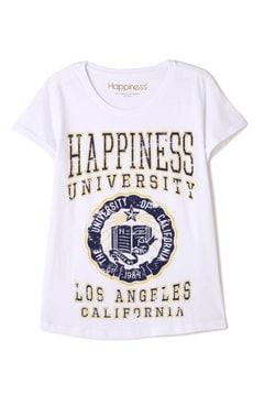 HAPPINESS 10 / プリントTシャツ