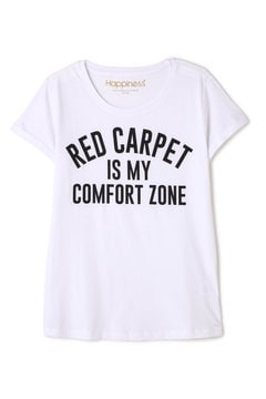 HAPPINESS 10 / RED CARPETロゴTシャツ