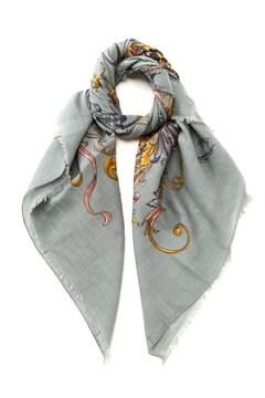 MANIPURI / コットン&シルク スカーフ