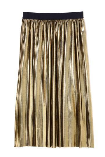 BAUM UND PFERDGARTEN / Golden Plisse Skirt