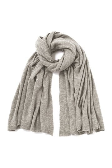 JOHNSTONS OF ELGIN / CASHMERE UTILITY WRAP