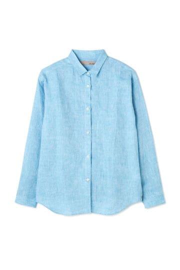 Luxluft フレンチリネンシャツ