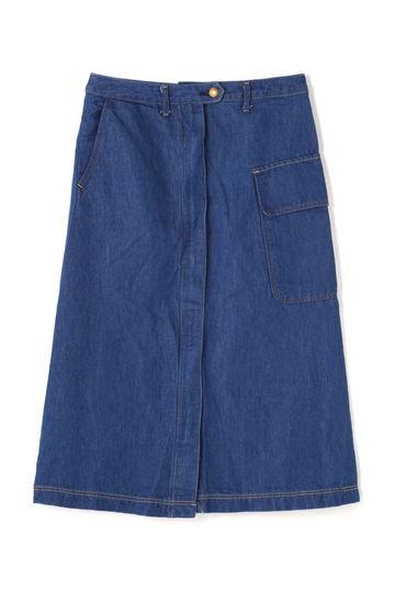 Luxluft デニムAラインスカート