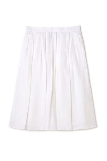Luxluft フレンチリネンフレアスカート