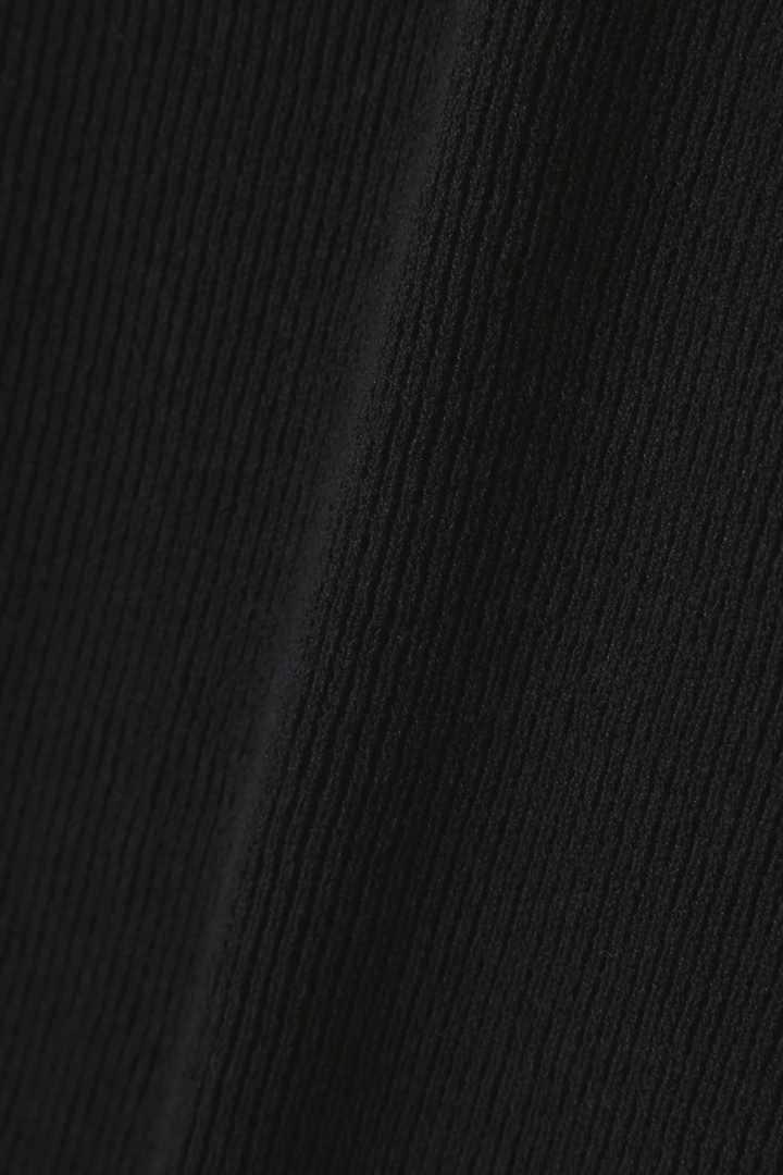 【LEE4月号掲載】Unaca レースアップニットワンピース