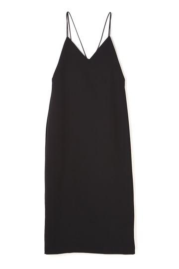 【LEE 8月号掲載】dunadix バックストラップスリップドレス