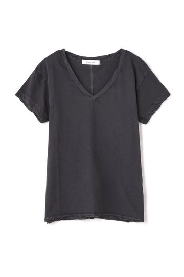 dunadix カットオフヘムTシャツ