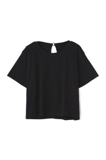 Unaca オープンバックTシャツ