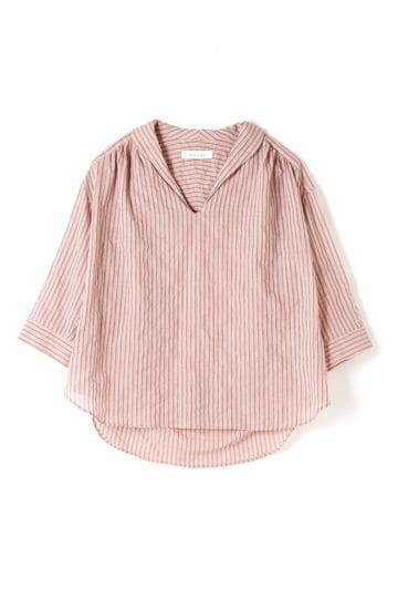 dunadix ストライプスラッシュシャツ