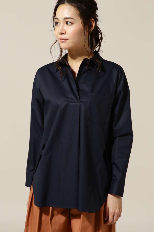 【乙黒えりさん着用】DIRECTOIRE スキッパービッグシャツ
