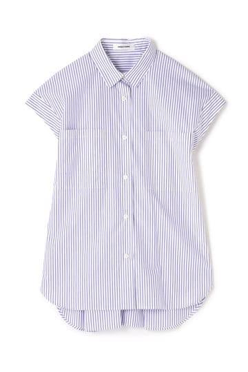 【先行予約 4月中旬 入荷予定】DIRECTOIRE ストライプボタンシャツ
