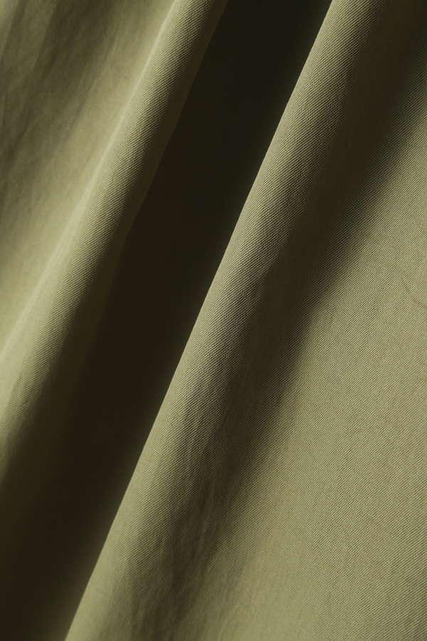 dunadix ウエストリボンフレアパンツ