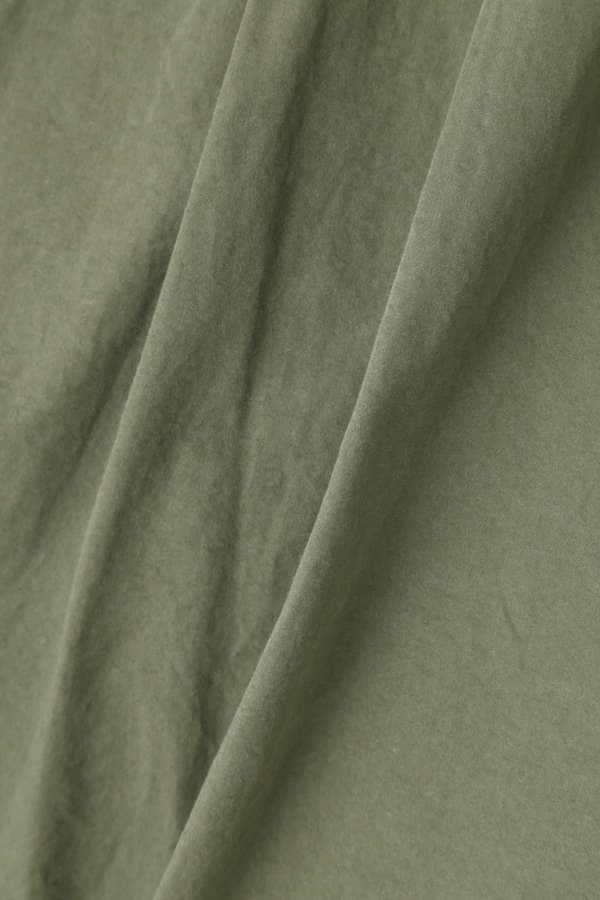【LEE 7月号掲載】Luxluft ハイウエストベルトパンツ