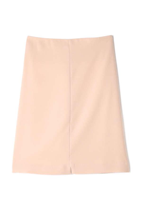 Unaca noir ストレッチAラインスカート