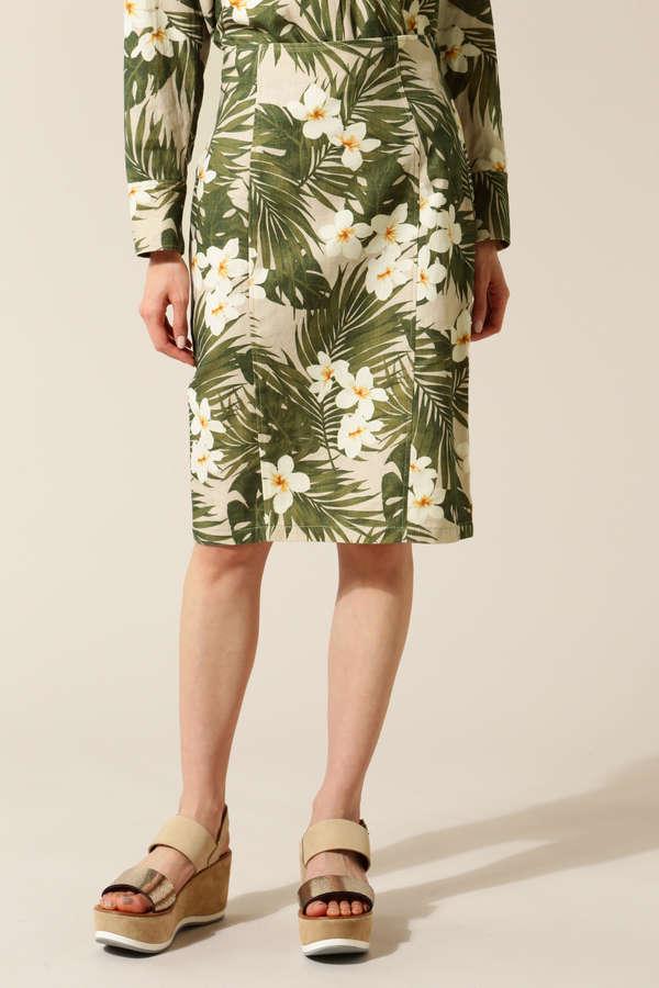 dunadix ハイビスカス柄スカート(セットアップ対象商品)