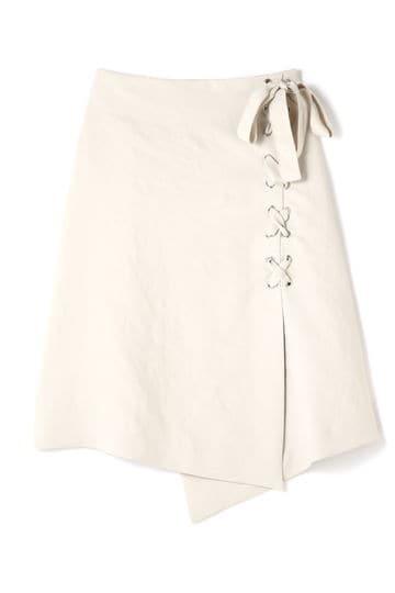 Unaca ハトメリボンスカート(セットアップ対象商品)
