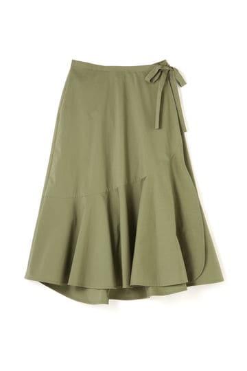 【先行予約 5月下旬入荷予定】Unaca フレアラップスカート