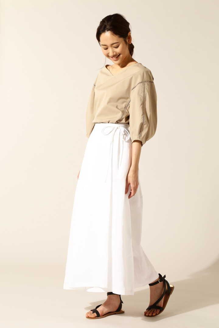 ラップロングスカート