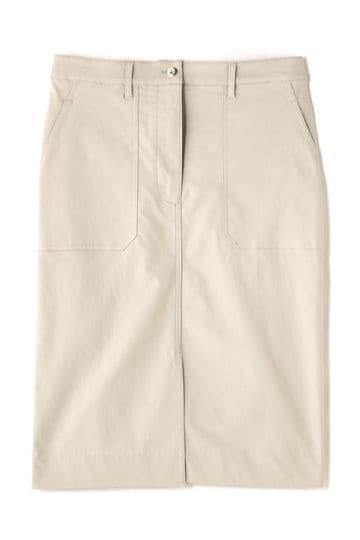 Unaca noir パッチポケットスカート
