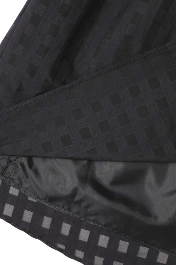 DIRECTOIRE ブロックチェックフレアスカート(セットアップ対象商品)