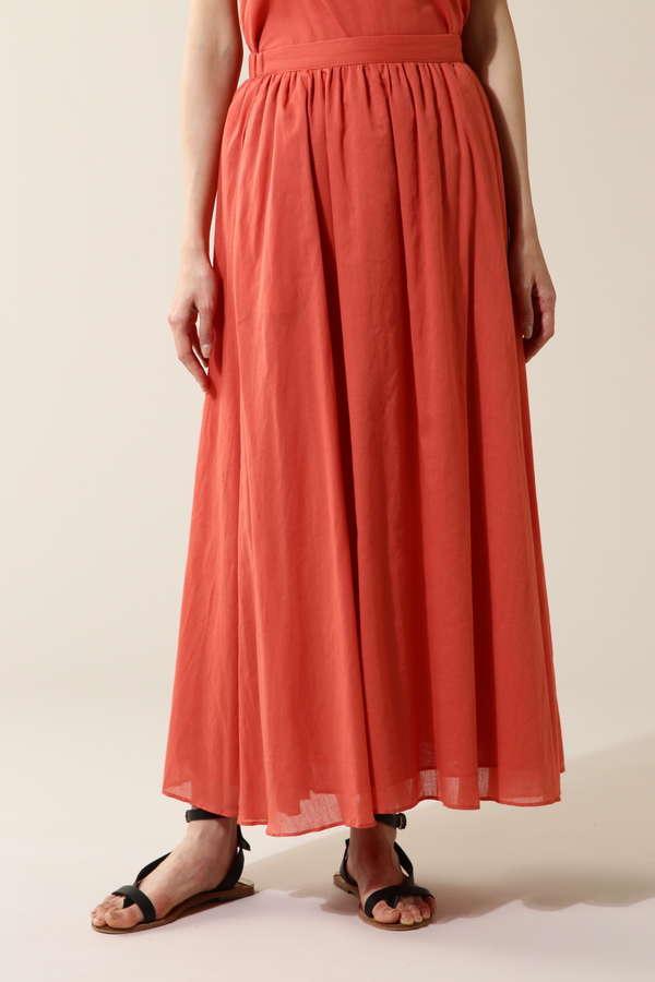 Unaca ローンギャザースカート