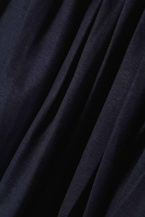 Unaca noir ギャザーフレアスカート